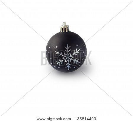 Christmas ball on a white background. Christmas design.
