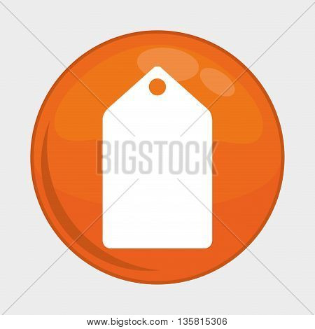 Social Media button represented by label multimedia app . Colorfull and isolated illustration