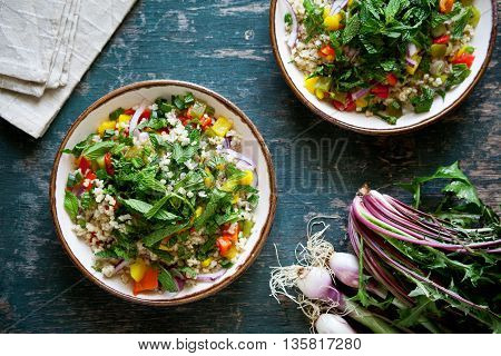 Vegetarian Bulgur Salad