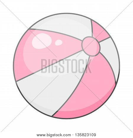 Beach Ball Colorful Icon