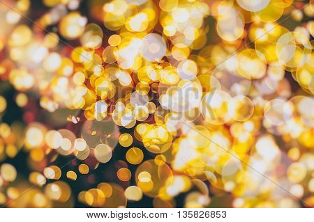 Vintage Magic background with colorful bokeh. Spring Summer Christmas New Year disco party background.