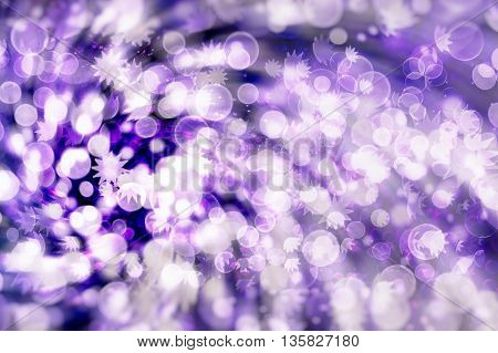 Vintage Magic background with colorful bokeh. Spring Summer Christmas New Year disco party