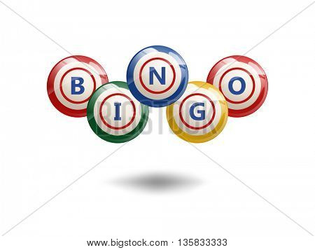 Flying Bingo Balls