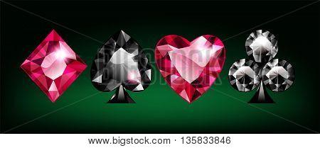 Dimond Card Suits