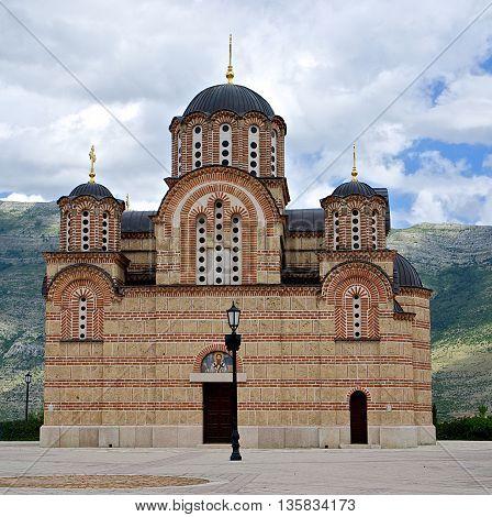 Hercegovacka Gracanica church in Trebinje, Bosnia and Hercegovina