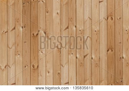 Wooden background of boards arranged vertically in the frame. Wall