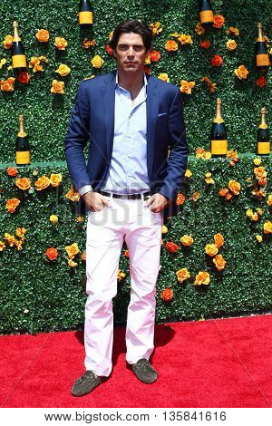 JERSEY CITY, NJ - MAY 30: Nacho Figueras attends the 8th Annual Veuve Clicquot Polo Classic at Liberty State Park on May 30, 2015 in Jersey  City, New Jersey.