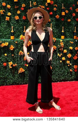 JERSEY CITY, NJ - MAY 30: Actress Diane Kruger attends the 8th Annual Veuve Clicquot Polo Classic at Liberty State Park on May 30, 2015 in Jersey  City, New Jersey.