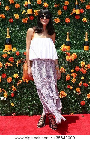 JERSEY CITY, NJ - MAY 30: Interior designer Athena Calderone attends the 8th Annual Veuve Clicquot Polo Classic at Liberty State Park on May 30, 2015 in Jersey  City, New Jersey.