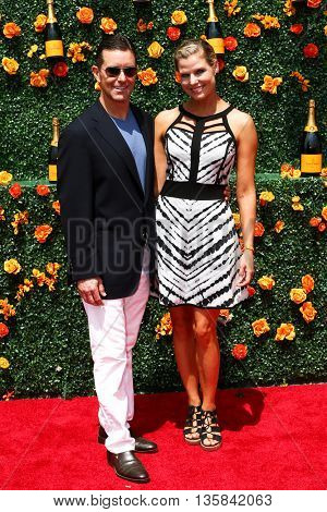 JERSEY CITY, NJ - MAY 30: Polo player Bill Ballhaus (L) and Darrin Mollett attend the 8th Annual Veuve Clicquot Polo Classic at Liberty State Park on May 30, 2015 in Jersey  City, New Jersey.