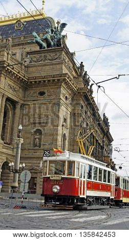 Pragues Old Cable Car