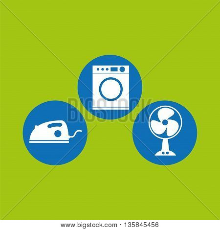 home appliances design, vector illustration eps10 graphic