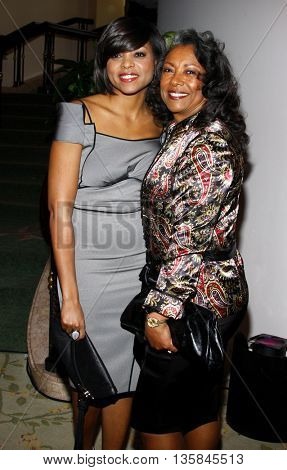 Taraji P. Henson at the Essence Black Women in Hollywood Luncheon held at the Beverly Hills Hotel in Beverly Hills, USA on February 19, 2009.