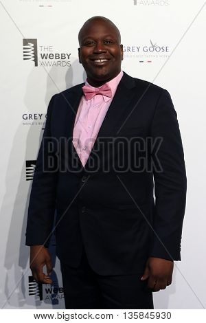 NEW YORK, NY - MAY 18: Actor Tituss Burgess attends the 19th Annual Webby Awards at Cipriani Wall Street on May 18, 2015 in New York City.