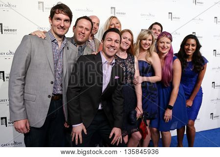 NEW YORK, NY - MAY 18: Representatives from RetailMeNot attend the 19th Annual Webby Awards at Cipriani Wall Street on May 18, 2015 in New York City.