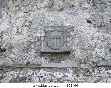 Plaque On Cathedral Wall