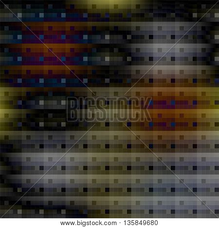 Abstract Background With Dark Squares. Vector Illustration