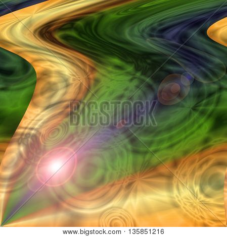 Abstract coloring background of the pastels gradient, with visual wave and shear effects