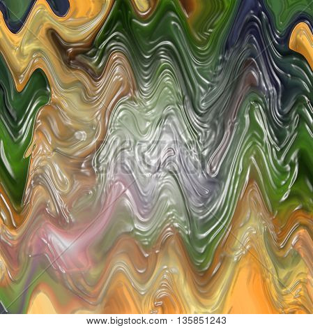 Abstract coloring background of the pastels gradient,with visual wave,shear and plastic wrap effects