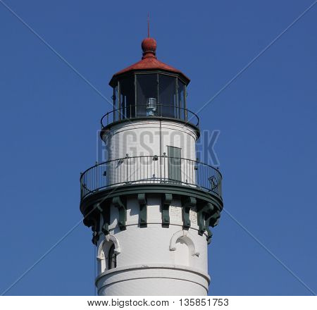 Windpoint Lighthouse in the Racine, Wisconsin area