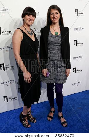NEW YORK, NY - MAY 18: CEO Meghan Murphy and Co-founder of HandUp.org Rose Broome attend the 19th Annual Webby Awards at Cipriani Wall Street on May 18, 2015 in New York City.