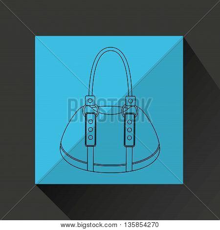 female wallet design, vector illustration eps10 graphic