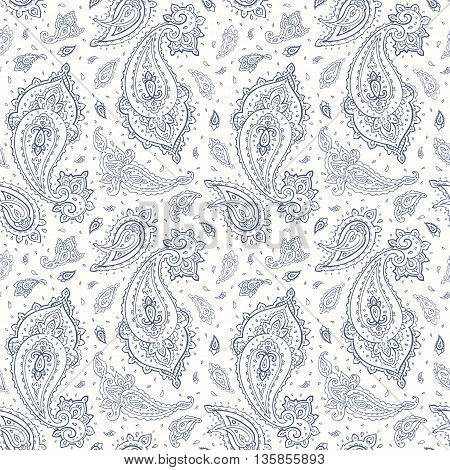 Beautiful seamless background. Elegant Hand Drawn vintage Pattern