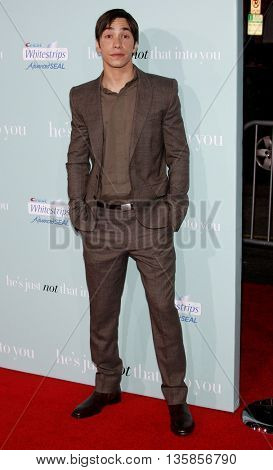 Justin Long at the World premiere of 'He's Just Not That Into You' held at the Grauman's Chinese Theater in Hollywood, USA on February 2, 2009.