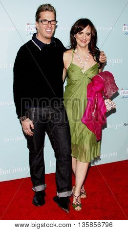 Greg Behrendt and Michelle Weiss at the World premiere of 'He's Just Not That Into You' held at the Grauman's Chinese Theater in Hollywood, USA on February 2, 2009.