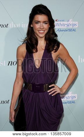 Jacqueline MacInnes Wood at the World premiere of 'He's Just Not That Into You' held at the Grauman's Chinese Theater in Hollywood, USA on February 2, 2009.