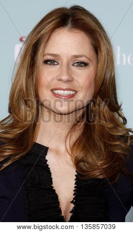 Jenna Fischer at the World premiere of 'He's Just Not That Into You' held at the Grauman's Chinese Theater in Hollywood, USA on February 2, 2009.