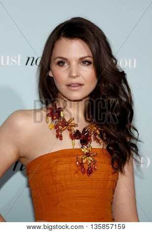 Ginnifer Goodwin at the World premiere of 'He's Just Not That Into You' held at the Grauman's Chinese Theater in Hollywood, USA on February 2, 2009.