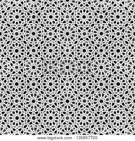 oriental mosaic design - morocco tile patten