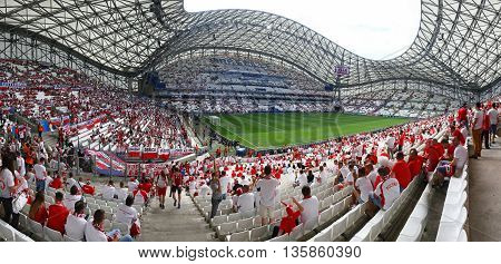 Stade Velodrome In Marseille, France