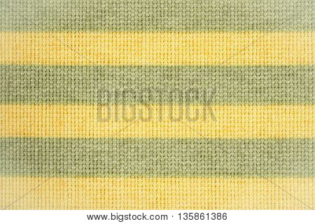 Vintage photo Colorful fabric as background striped tablecloth texture as backdrop