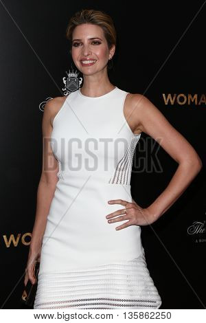 NEW YORK-MAR 30: TV personality Ivanka Trump attends the