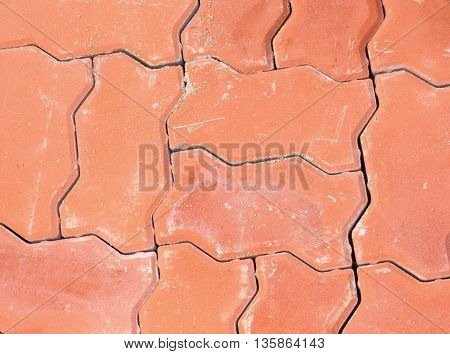 brick block texture and background and space for add text above