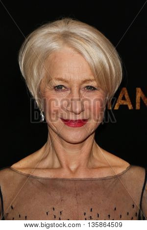 NEW YORK-MAR 30: Actress Helen Mirren attends the