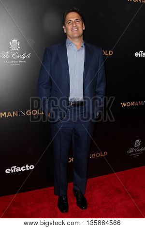 NEW YORK-MAR 30: TV personality Mark Cuban attends the