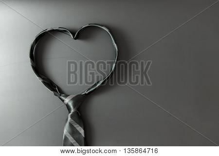 Heart Shaped Tie