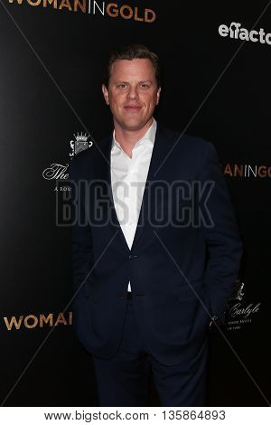 NEW YORK-MAR 30: TV personality Willie Geist attends the