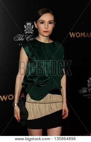 NEW YORK-MAR 30: Actress Libby Woodbridge attends the