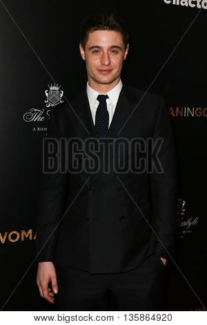 NEW YORK-MAR 30: Actor Max Irons attends the