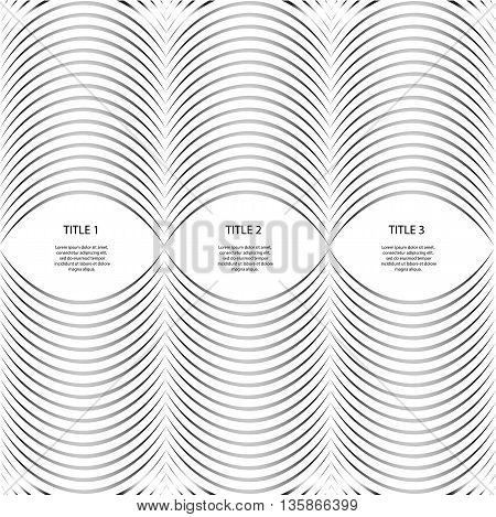 Abstract Black And White Lines Vector Background Eps 10