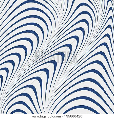 Abstract Blue Lines Vector Background Eps 10