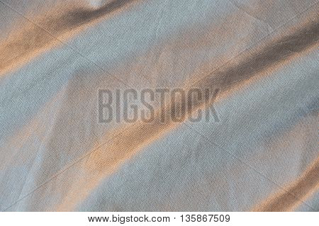 close up of slip cloth texture and background