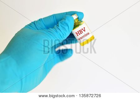 Hepatitis B virus (HBV) vaccine for injection