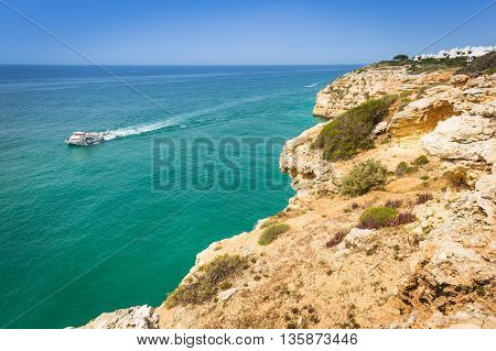 Praia da Marinha - Beautiful Beach Marinha in Algarve Portugal