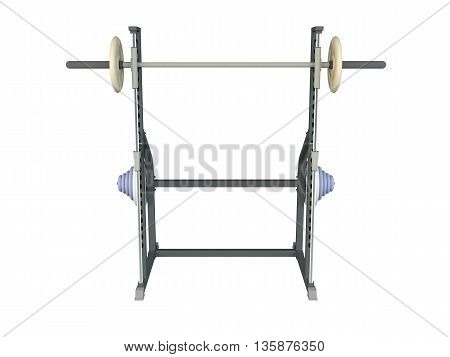 3D Rendering Of A Training Apparatus