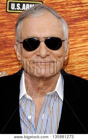 Hugh Hefner at the Spike TV's 2nd Annual